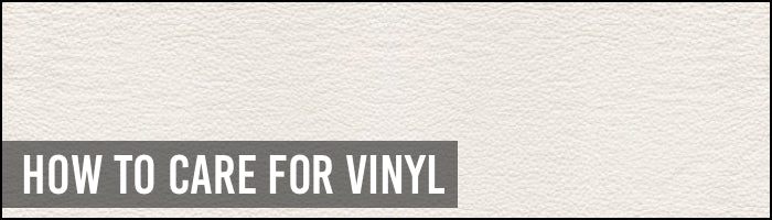 How to care for Vinyl - Bohemio Furniture