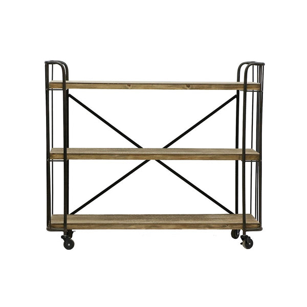 Chic Industrial 3 Shelf Trolley