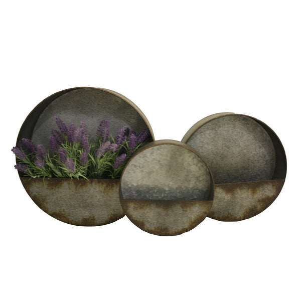 Nested Elemental Planter Set of 3