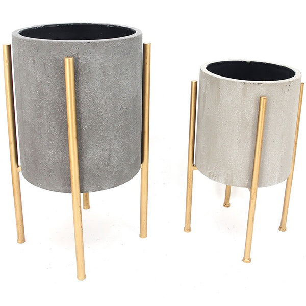 Nordic Pot Planters - Set of 2