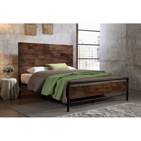 Alexander Industrial Bed (Queen size)