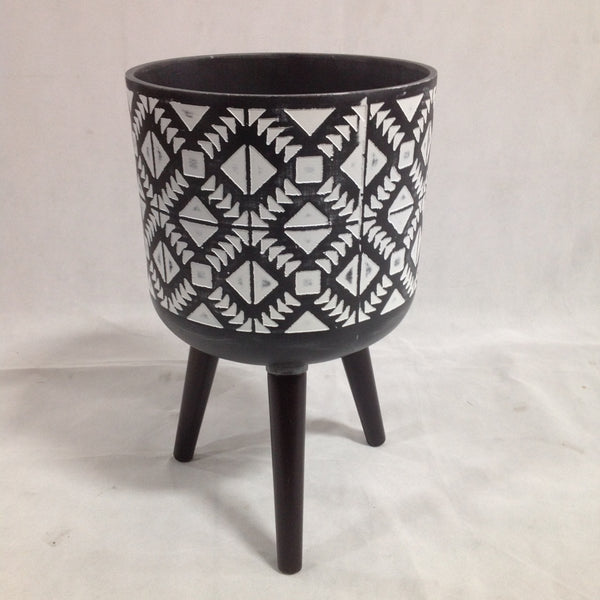 Aztec Pot Planter - Small