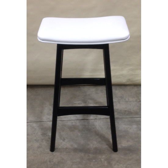 Gudena Counter Barstool - Black (White)