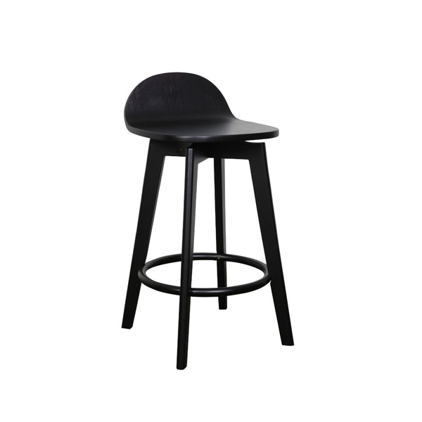 Calay Counter Barstool all timber- Black