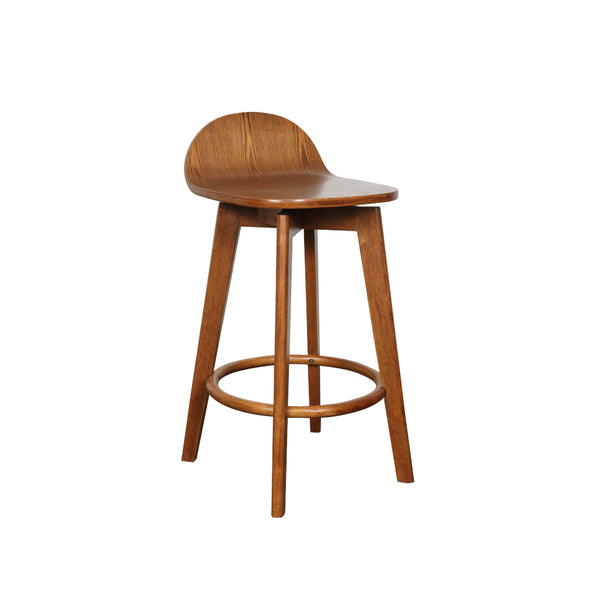 Calay Counter Barstool - Teak