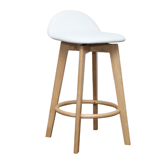 Calay Counter Barstool - Natural (White)