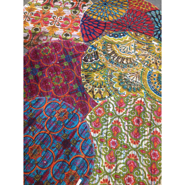 Chindi Print rugs assorted