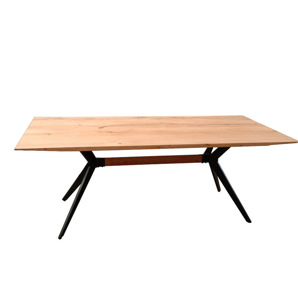 Cross Oak Dining Table (200cm)