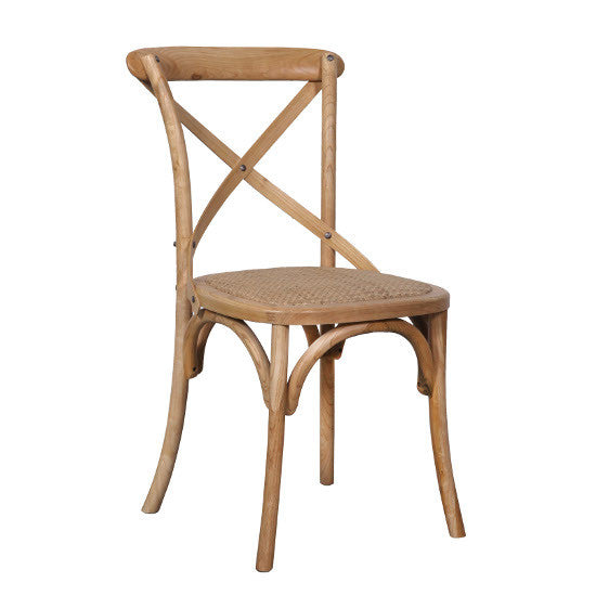 Crossback Oak Chair (Teak)