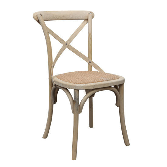 Crossback Oak Chair (Natural)