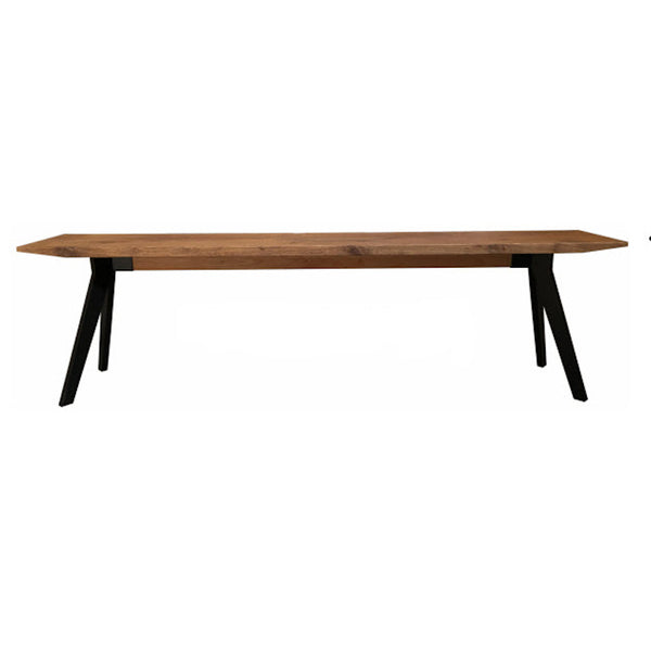 Cross Oak Bench - Teak