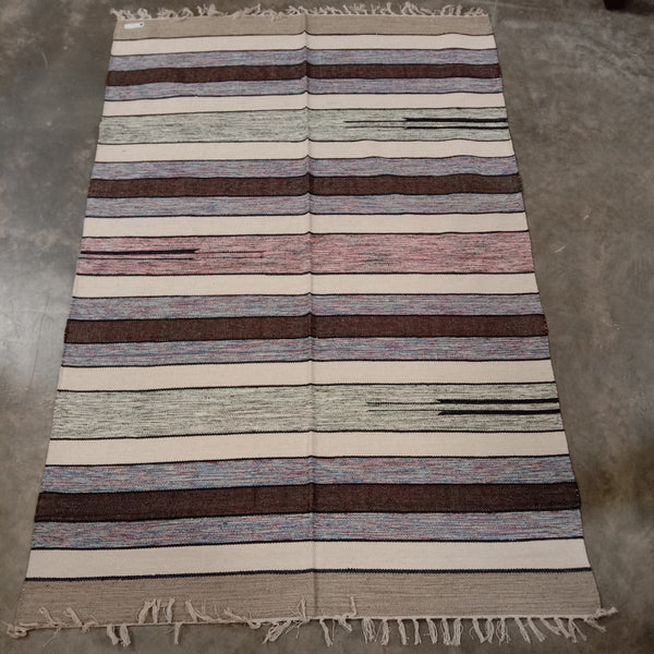 Cotton Cutshuttle Rug 120 x 180 cm - Winter Tones