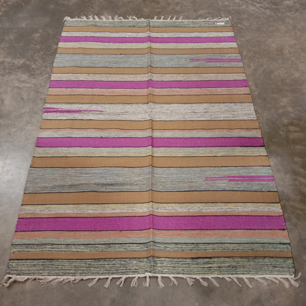Cotton Cutshuttle Rug 120 x 180 cm - Desert Shades