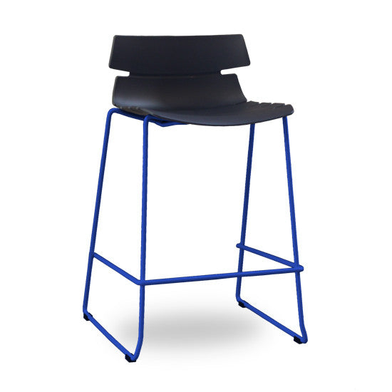 Darth Counter Barstool (Black & Blue)