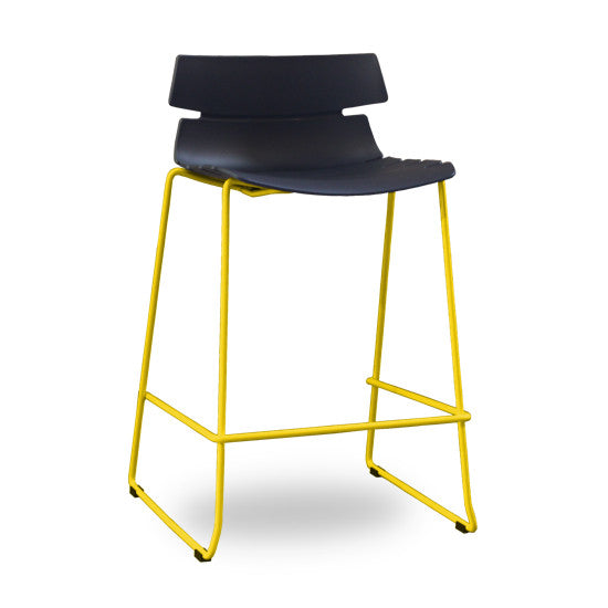 Darth Counter Barstool (Black & Yellow)