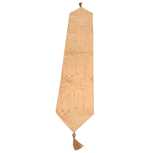 Eden Table Runner - V Gold