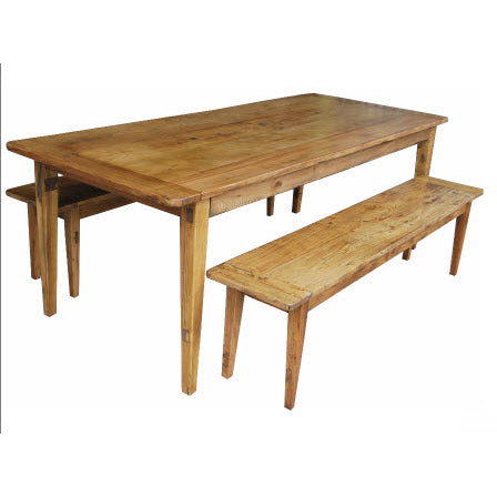 Recycled Elm Dining Table (150 cm)