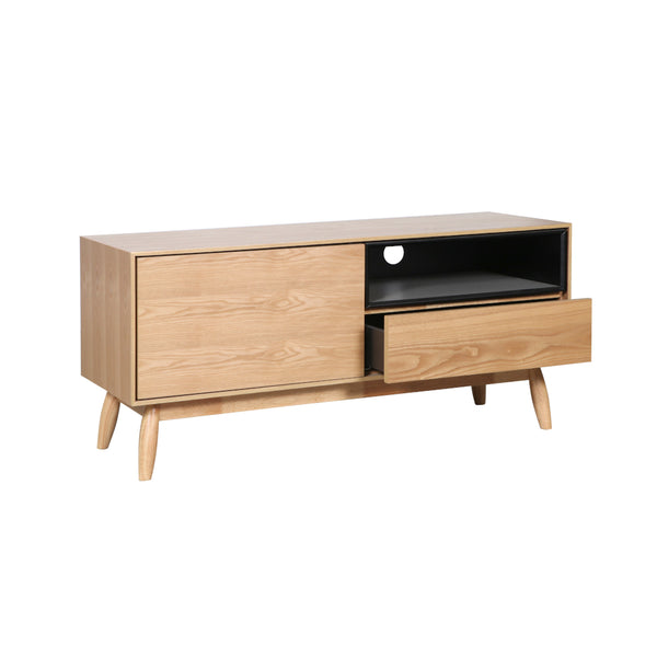 Fin TV Unit 115 cm (Natural Finish)