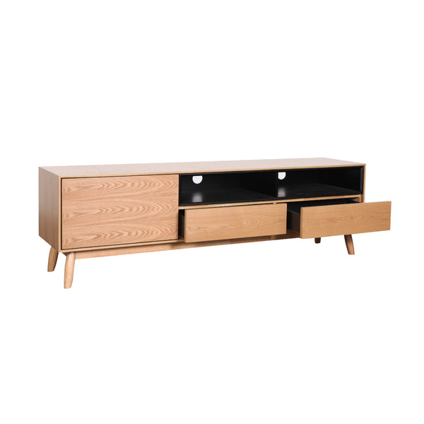 Fin TV Unit 170 cm (Natural Finish)