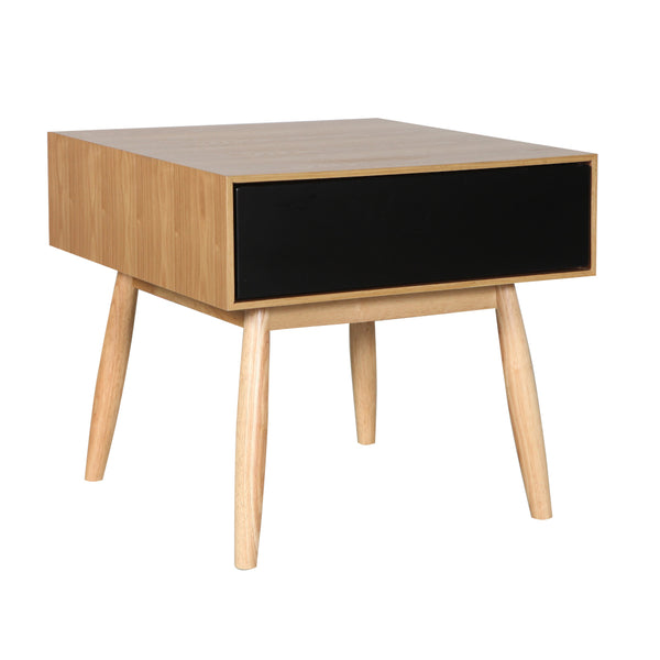 Fin Side Table (Natural Finish)