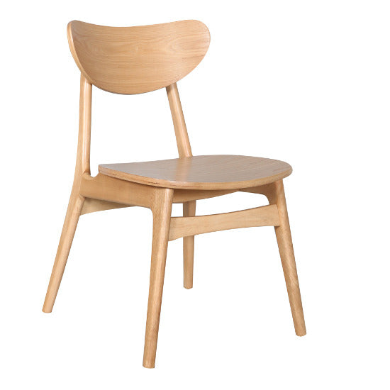 Fin Dining Chair - Natural All Timber