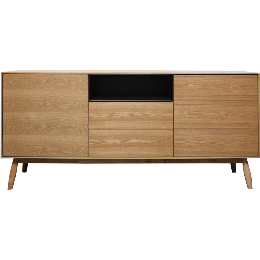 Fin Sideboard 170 cm (Natural Finish)