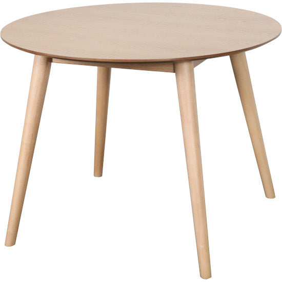 Gudena Round Dining Table (Natural finish)