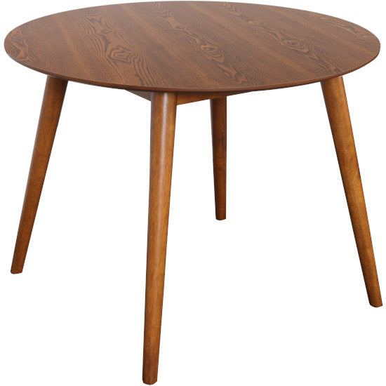 Gudena Round Dining Table (Teak finish)
