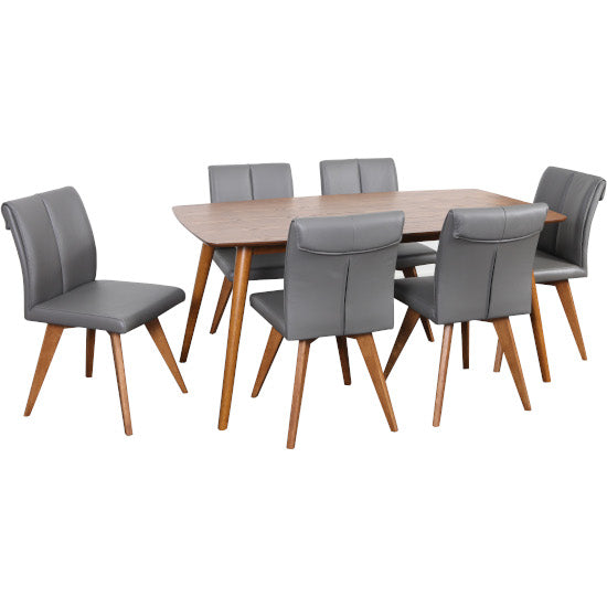 Gudena Dining Table 160cm (Teak finish)
