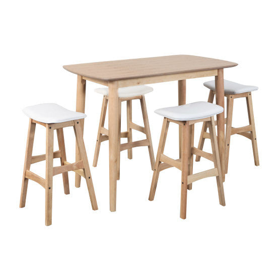 Gudena Breakfast Table & Stools