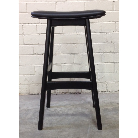 Gudena Counter Barstool - Black