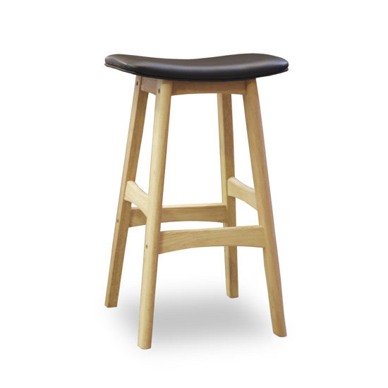 Bohemio Furniture Online Store - Gudena Kitchen Stool - Natural (Black)
