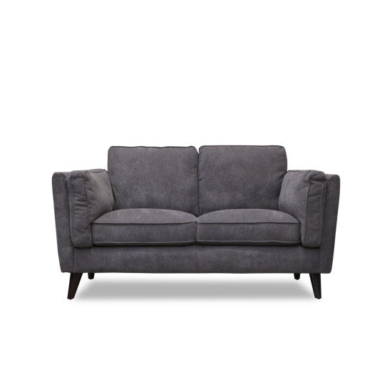 Bohemio Furniture Online Store - Haagen 2 Seater Sofa (Charcoal)