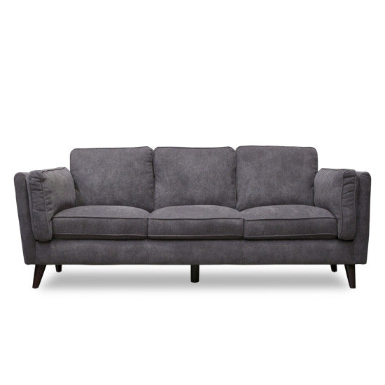 Bohemio Furniture Online Store - Haagen 3 Seater Sofa (Charcoal)