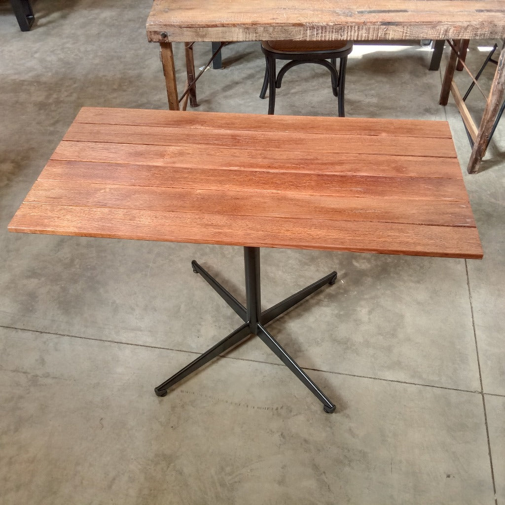 Merbau Table Pedestal Leg