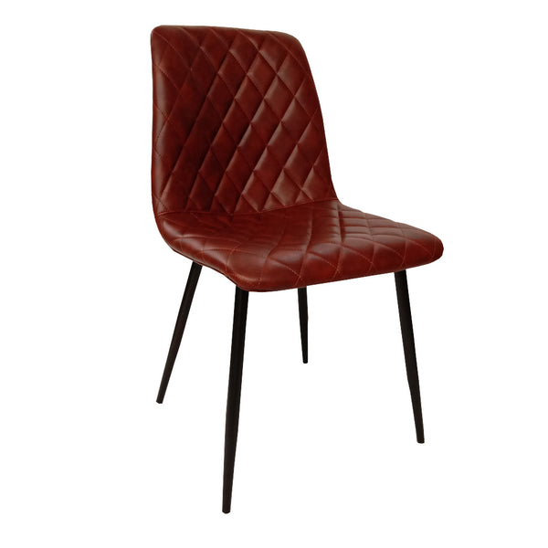 Elise Chair - Red Brown