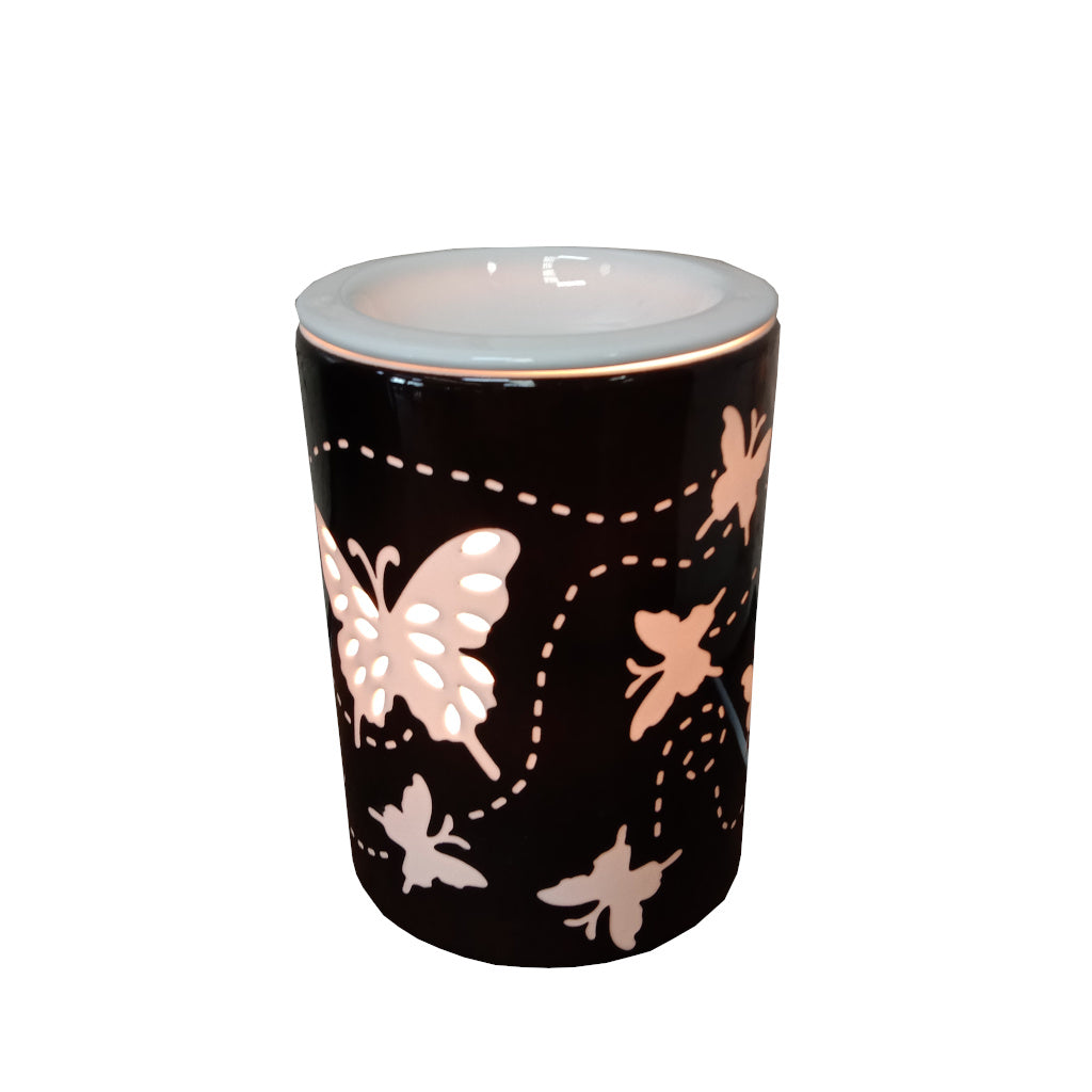 "Electric Oil Burner Lamp ""Butterfly"""