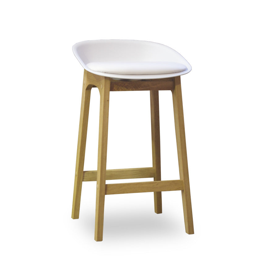 Bohemio Furniture Online Store - Lambada Kitchen Stool (White)