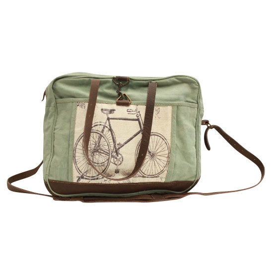 Trike Messenger Bag