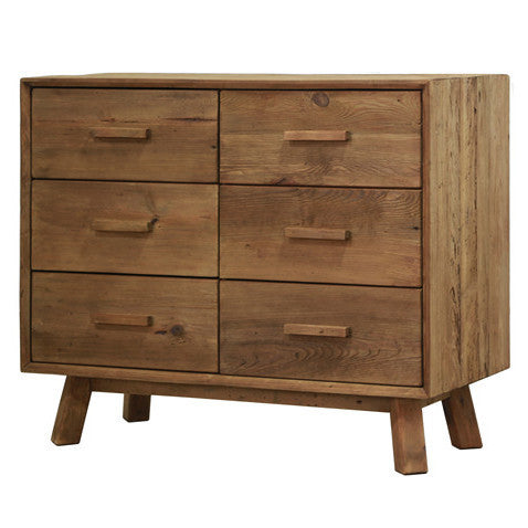 Manny 6 Drawer Oregon Chest Sideboard