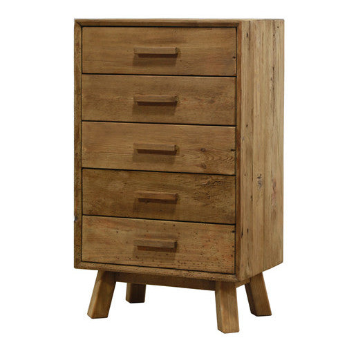 Manny Tall Boy 5 Drawers