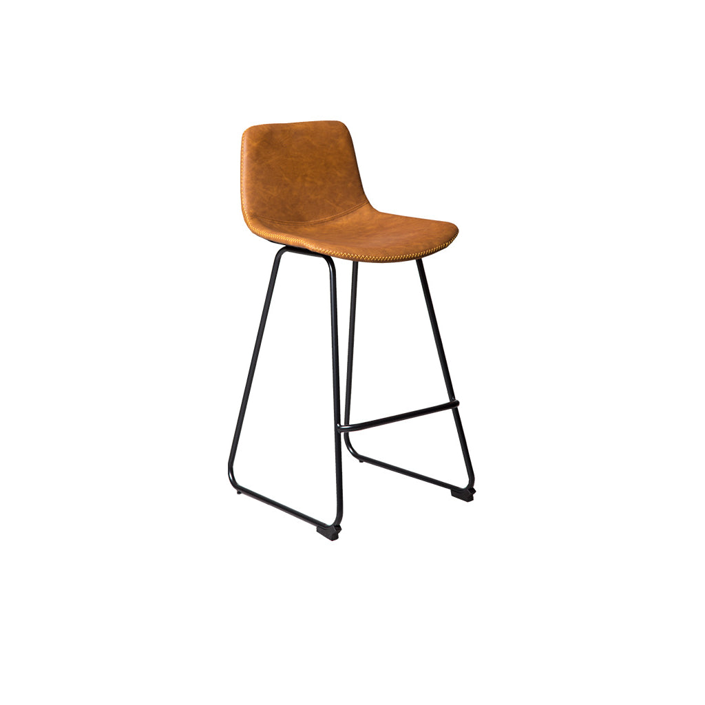 Mandy Skid Counter Bar Stool (Rust)