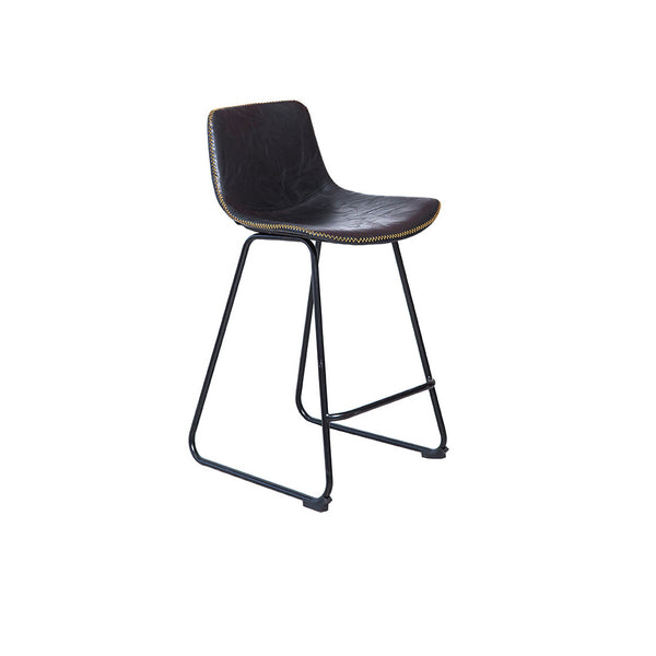 Mandy Skid Counter Bar Stool (Black)
