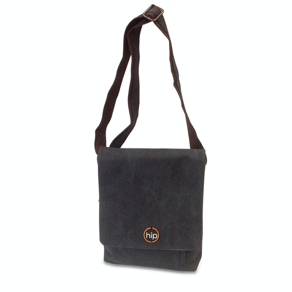 Messenger Cross Body Sling Bag Charcoal