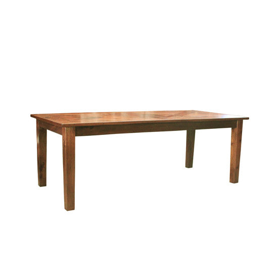 Bohemio Furniture Online Store - Monsoon Dining Table Parquetry Top 220cm x 100cm