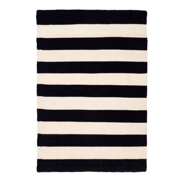 Nantucket Black P.E.T. Rug