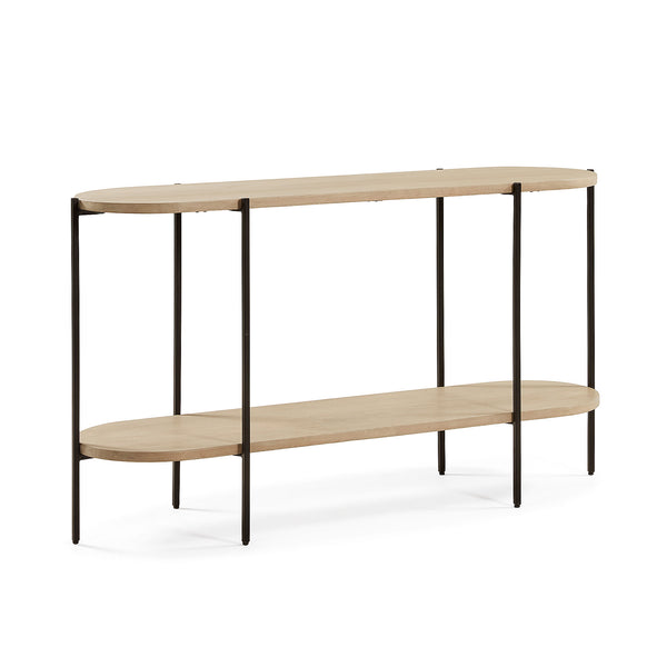 Pam Oval Console Table