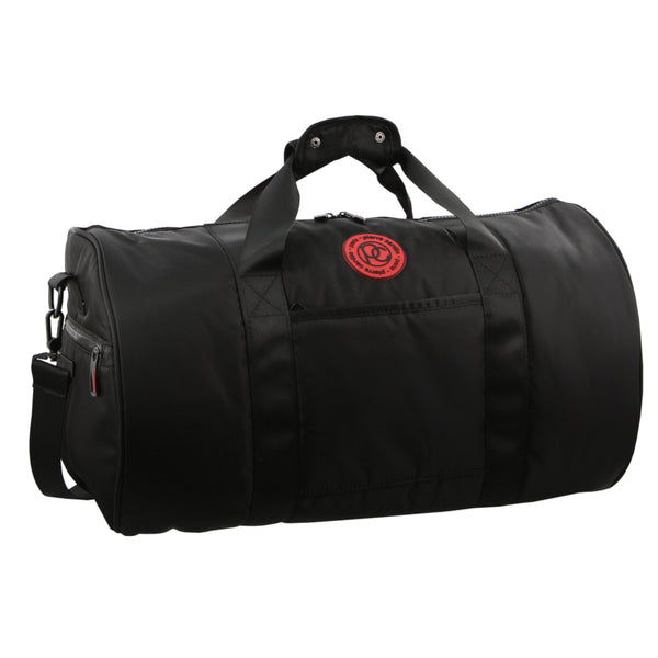 BLACK Pierre Cardin Nylon Overnight Bag