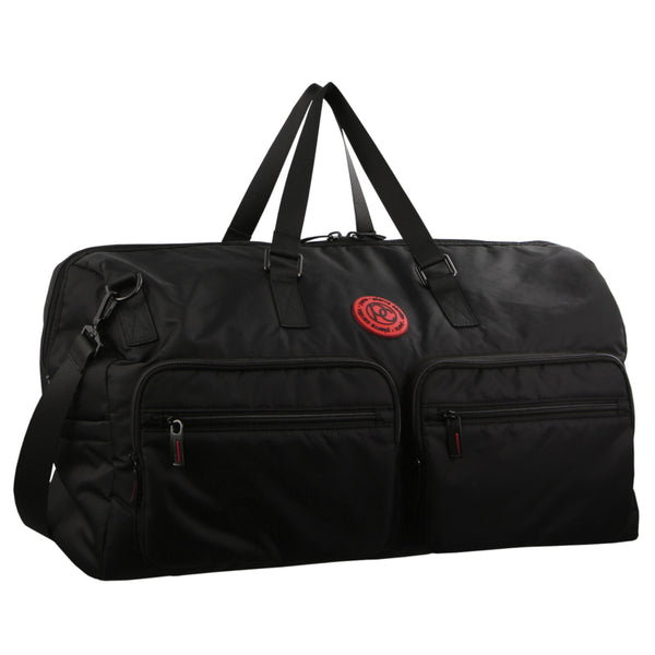 BLACK Pierre Cardin Nylon Overnight Bag 2