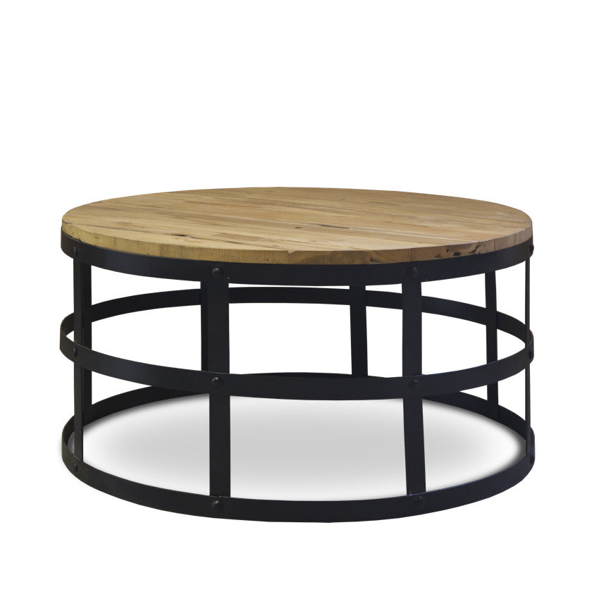 Round Nut Coffee Table